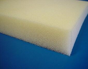 "Professional 4""x 24""x 24"" Dry Fast Reticulated Foam"