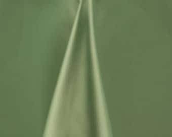 "Sage Matte Satin (Peau de Soie) Duchess Fabric Bridesmaid Dress 58""-60"" Wide Sold By The Yard."