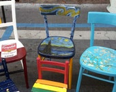 Sedie Dipinte A Mano : Ähnliche artikel wie sedie dipinte a mano auf etsy