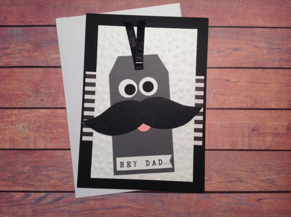 Moustache Cards Male Birthday Card Masculine Card Etsy