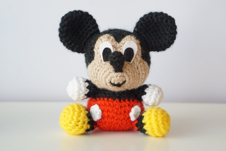MICKEY Mouse Disney Patrón Amigurumi Bebe Sencillo Fácil DIY | Etsy