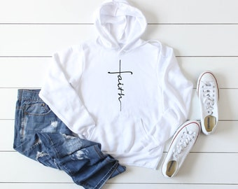 Faith Cross Sweatshirt 16f7d8cf52