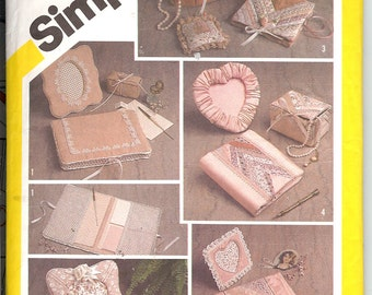 Simplicity 5296  Desk and Dresser Accessories  One Size  ID433