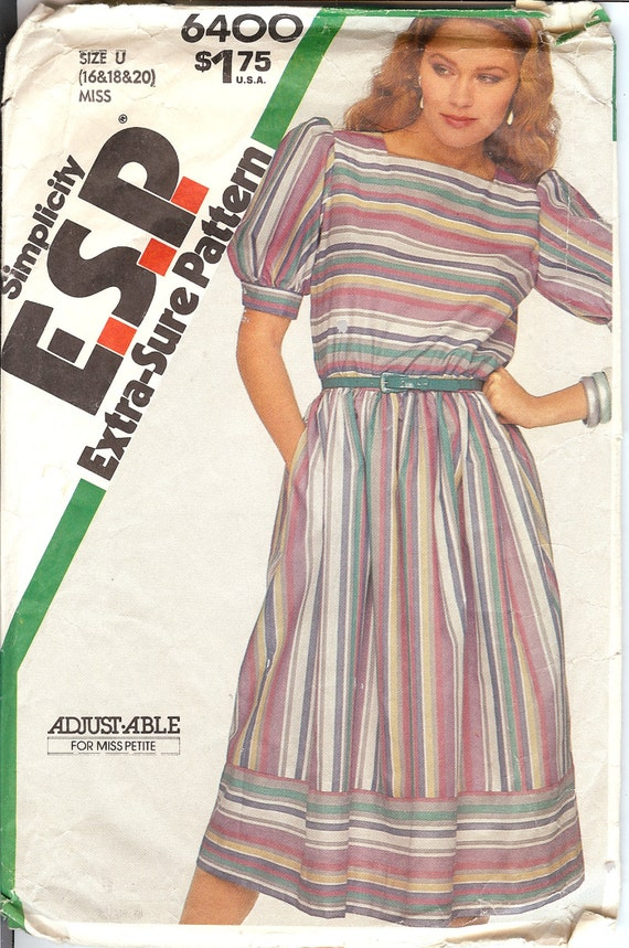 56f20bcf166d Manca di semplicità 6400 o Petite abito Extra-Sure Sewing