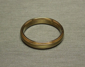 Mens Vintage Wedding Bands | Vintage Mens Wedding Band Etsy