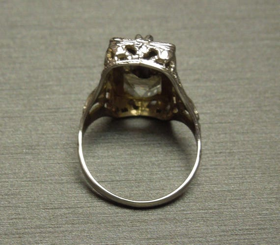 Tourmaline and Aquamarine Ring 1.44Ctw Yellow gold 10K 4.3gm Size 6 March Birthstone
