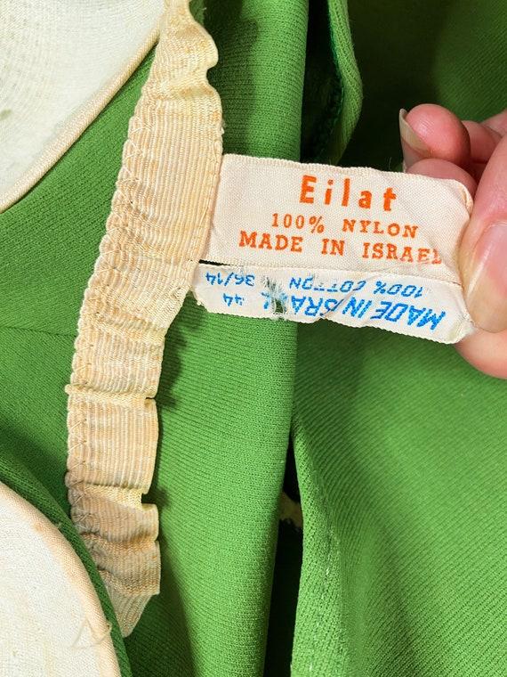1960s Green Swimsuit - One Piece Swimsuit - Bathi… - image 9