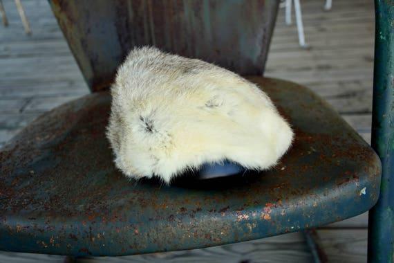 50s 60s Fur Hat - Rabbit Fur  - Fox Hat - Coyote … - image 6