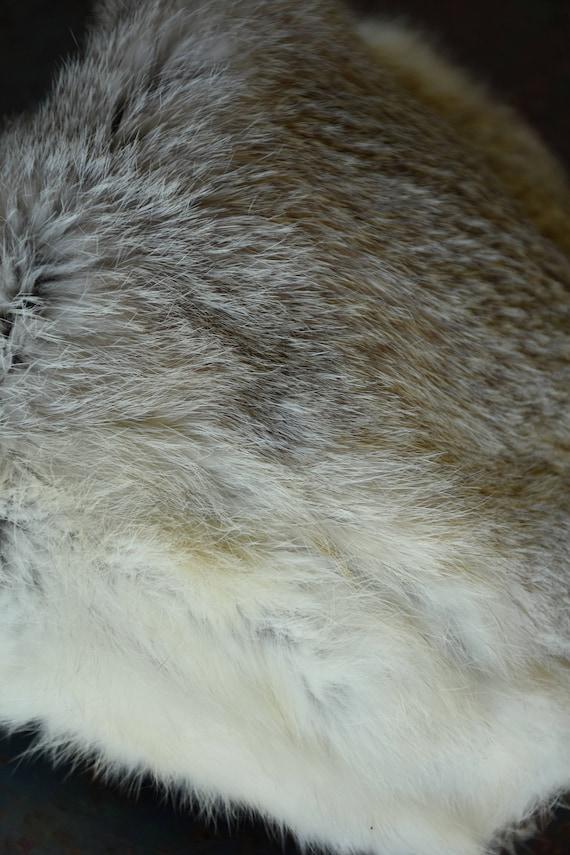 50s 60s Fur Hat - Rabbit Fur  - Fox Hat - Coyote … - image 8