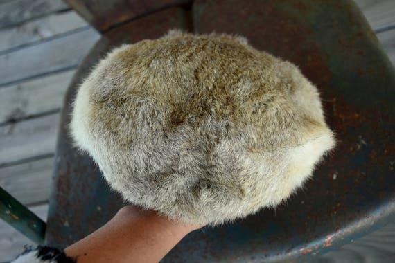 50s 60s Fur Hat - Rabbit Fur  - Fox Hat - Coyote … - image 4