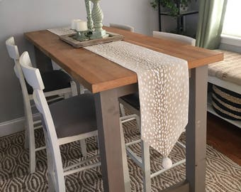 Tablerunner - Table Runner - LINED - Custom - choose your own fabric(s) and size