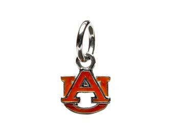 Auburn Orange AU Dangle Charm