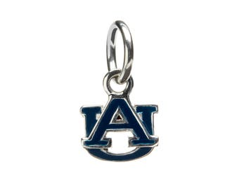 Auburn Navy Blue AU Dangle Charm