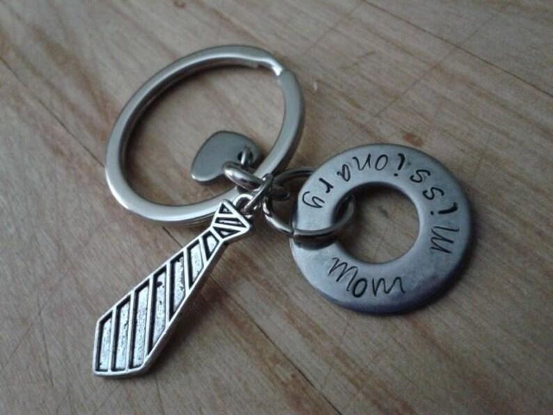 Missionary Mom or Dad Keychain