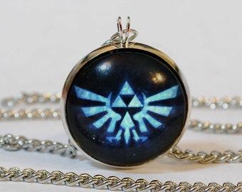 Handmade Triforce Pendant Necklace