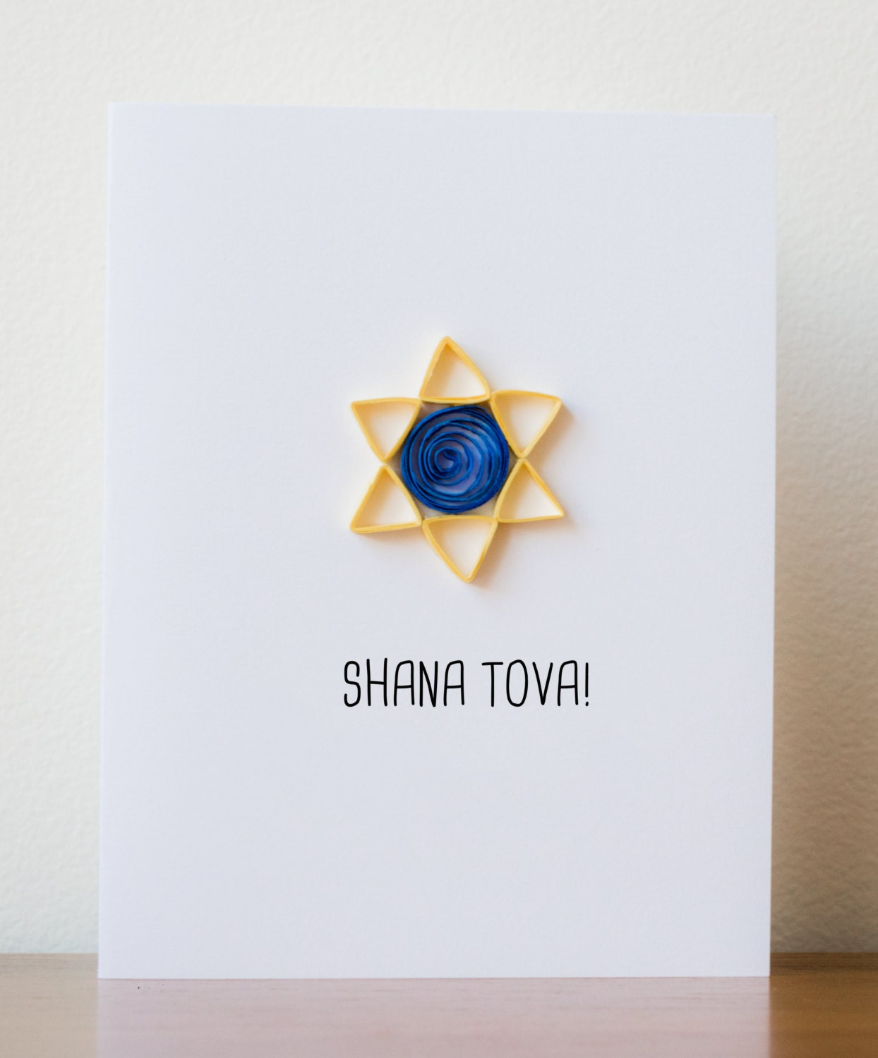 Rosh Hashanah Card Jewish New Year Card Shana Tova Card Etsy