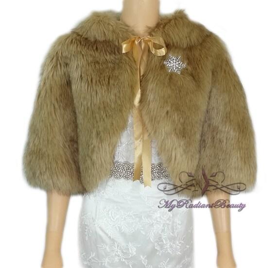 Faux Fur Stole Vintage Brown Chinchilla Faux Fur Cape Faux Etsy