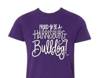 Adult T-shirt | Proud to be a Harrisburg Bulldog