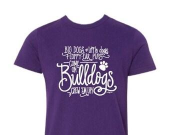 KIds' T-shirt | Bulldog Cheer!