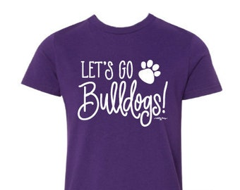 Adult T-shirt | Let's Go Bulldogs!