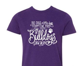 Adult T-shirt | Bulldog Cheer!