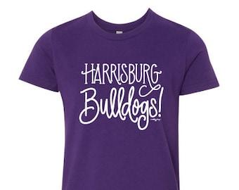 Adult T-shirt | Harrisburg Bulldogs