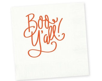 Napkins | Boo Y'all!