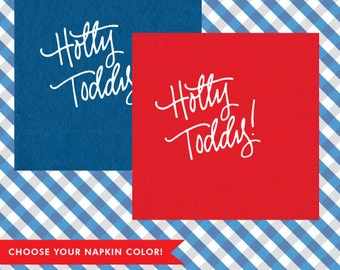 Hotty Toddy! Napkins (Qty 25)