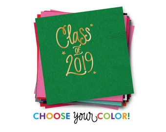 Graduation Napkins | Choose YOUR Color!
