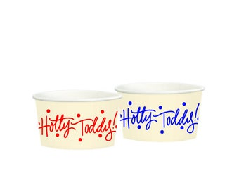 HOTTY TODDY  | Treat Cups (paper)