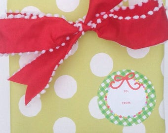 Gift Stickers | Garland Christmas