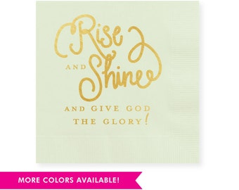 Rise & Shine  Napkins (Qty 25)