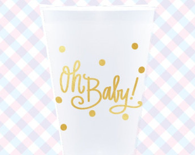 Featured listing image: Oh Baby! Cups (reusable) - Qty 12