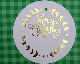 Christmas Gift Tags (Qty 12)