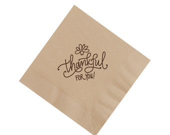 Napkins | Thankful for You