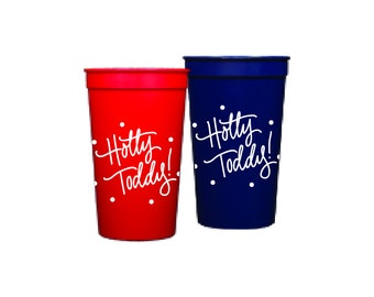 HOTTY TODDY  | Plastic Cups (22 oz. Stadium Style)