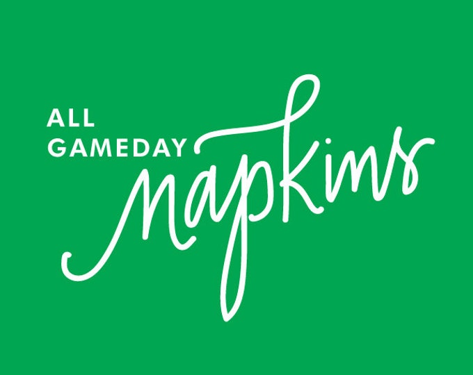 Featured listing image: ALL NAPKINS | Gameday