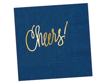 Napkins | Cheers - Navy (in stock)