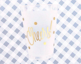 Cheers Cups (reusable) - BULK Qty 100