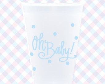 Frost Flex Cups | Oh Baby! (blue)