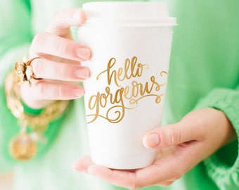 To-Go Coffee Cups | Hello Gorgeous!