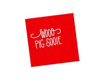 WOO PIG SOOIE | Napkins (red)