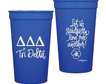 Tri Delta | Stadium Cups (Qty 8)