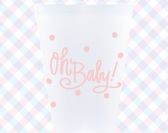 Frost Flex Cups | Oh Baby! (pink)