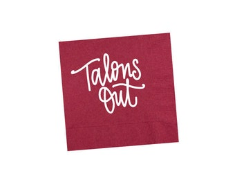 TALONS OUT | Napkins