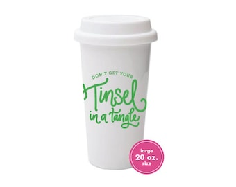 To Go Coffee Cups (20 oz) | Tinsel in a Tangle