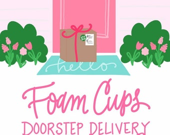 Spring Special! * Foam Cups & Napkins