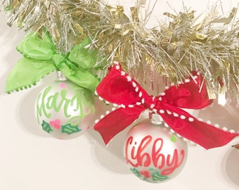 Personalized Ornaments!