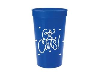 GO CATS   Stadium Cups (22 oz.)