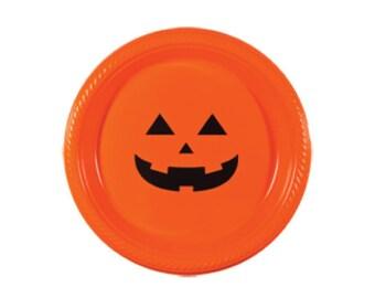 Dessert Plates | Jack-o-lantern